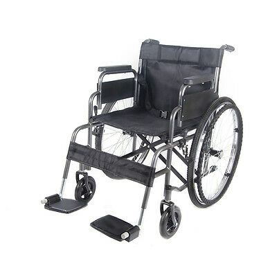All AID Self Propelled Folding Portable Lightweight Transit Wheel chair Footrest