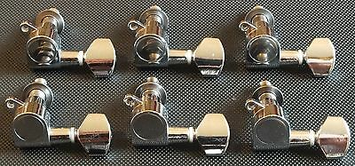Electric / Acoustic Guitar Tuning Pegs. Machine Heads Right Hand New Uk Dispatch