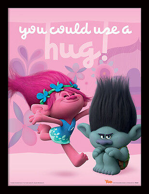 Trolls - You Could Use a Hug - 30 x 40cm Framed Poster Print FP11860P