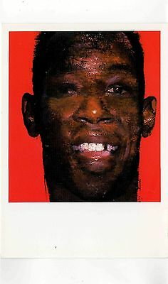 Postcard - Art - Justin Mortimer - Ian Wright,Ian's Gold Tooth very Good