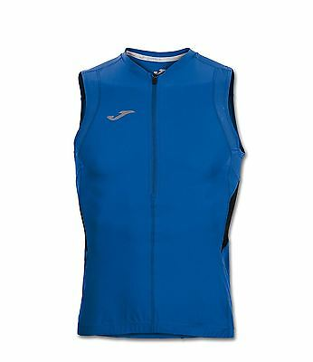 Joma Men's Duathlon Sleeveless Cycling Gilet Royal / Black Large