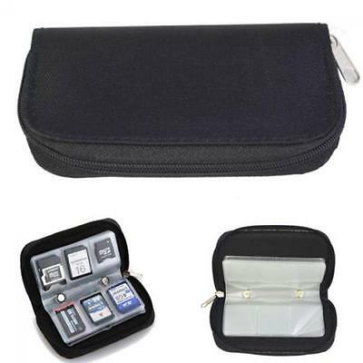 Wallet Holder Box Memory Card Storage Case Carrying Pouch for CF/SD/SDHC/MS/DS