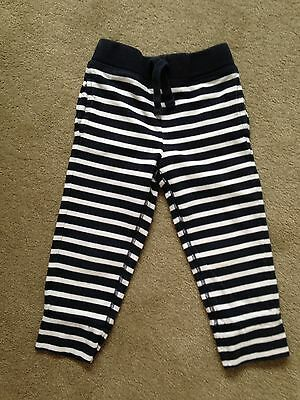 Gorgeous Gap Nautical Navy White Strip Pants: Sz 3. EUC