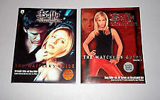 BUFFY THE VAMPIRE SLAYER * Watchers Guide Book One & Book Two * PAPERBACKS x 2