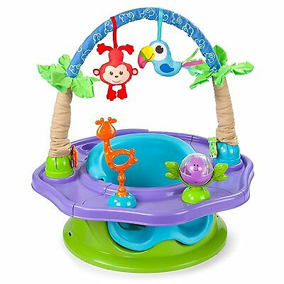 Summer Infant Activity Seat Baby Toddler Center Seat Toys Jungle Chair