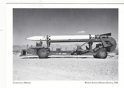 "*Postcard-""The Corporal Missile"" ...White Sands Missile Range, NM (#80)"