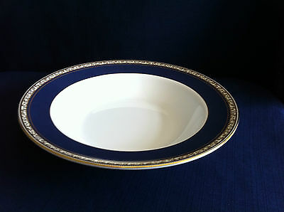 """Wedgwood Rococo 8"""" rimmed soup bowl"""