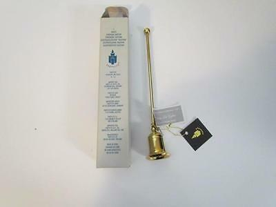 NIB Partylite Candle Snuffer Brass 9""
