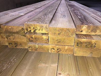c24 timber treated 5 x 2 (120x47) carcassing