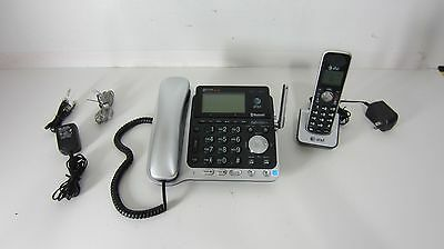 USED AT&T Connect to Cell 2 Line Corded/Cordles Answering System DECT 6 TL86109