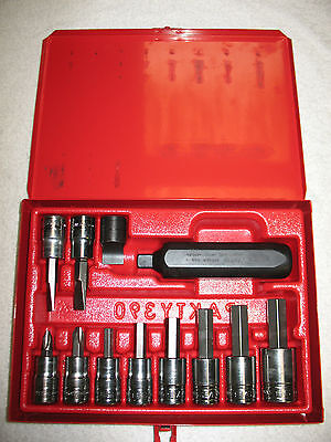Snap-On Tools, 12 Piece A/f Impact Driver Set Brand New