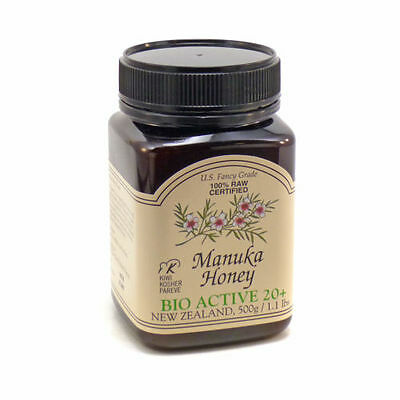 Fresh Manuka Honey Bio Active 20+ By Pacific Resources - 500 Grams