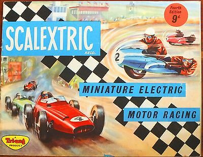 Scalextric 1963 4Th Edition Catalogue. Original. Uk Dispatch.