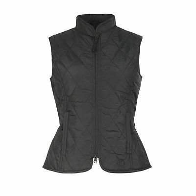 Horze Womens Classic Quilted Gilet Waistcoat