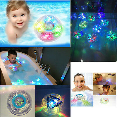 Kids Toy Bathroom LED Light Color Changing Waterproof Funny In Tub Bath Time