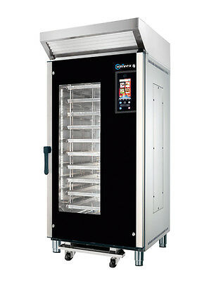 Univex MPRIRE Roll-In Fixed Rack Multi-Purpose Electric Oven w/ Steam
