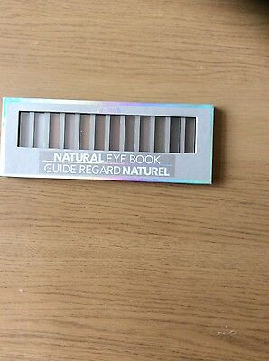 Claire's Girls and Womens Natural Eyeshadow Book in Natural brand new sealed