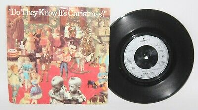 """7"""" Single - Band Aid - Do They Know It's Christmas - Phonogram FEED 1 - 1984"""