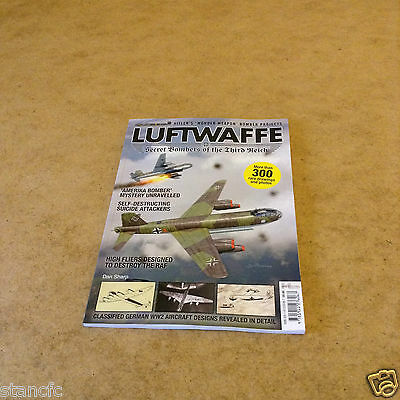Luftwaffe Secret Bombers Of The Third Reich Over 300 Rare Drawings & Photos