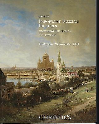 Christie's London, Important Russian Pictures, Somov Collection 11/28/07
