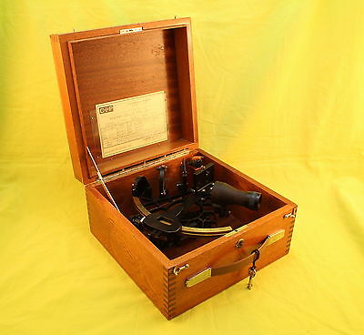 CASSENS & PLATH Marine Sextant - N 27941  Made in GERMANY