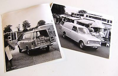 Bedford Viva HA Van - 2 Original Press Photographs