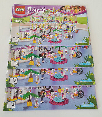 LEGO Friends Notice Instructions 41058 Heartlake shopping mail - Neuf -New