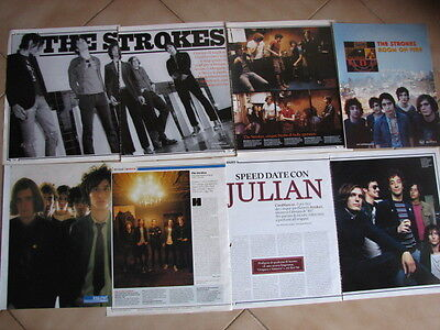 The Strokes 20 Italian Clippings Articles Pinups