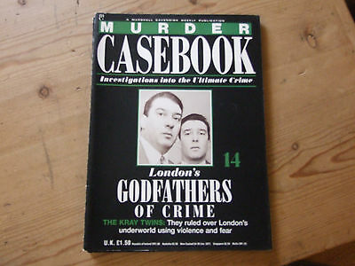 Murder Casebook  Issue 14  London's Godfathers Of Crime