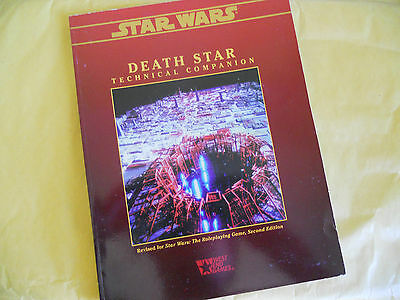Star Wars-Death Star-Technical Companion-Rpg-Gioco Di Ruolo-West End Games-Ing