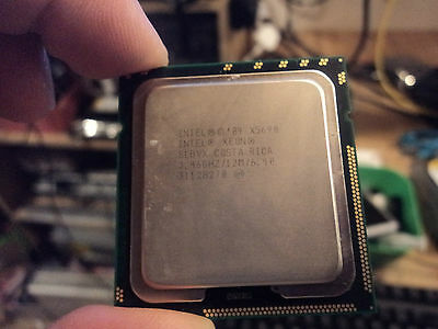 INTEL XEON matching pair X5690 3.46GHZ SLBVX hex core mac pro 5,1 upgrade