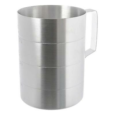 Update ADME-40 1ea 4 Quart Aluminum Dry Measurer Cup