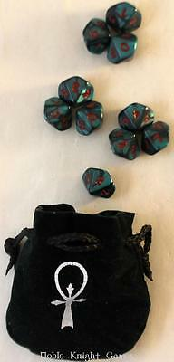 White Wolf Vampire The Masquerade Merch Vampire - The Masquerade - Dice Set NM