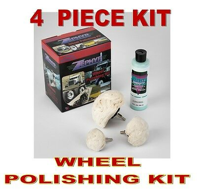 Zephyr (4 Piece) Wheel Polishing Kit