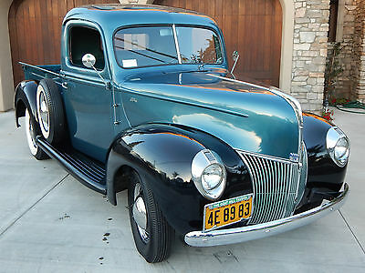 1940 Ford Other Pickups Pickup Truck 1940 Ford Pickup Truck w/ V8 & 3-Speed on the floor - Restored