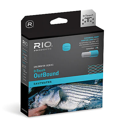 RIO InTouch Outbound Saltwater Long Distance WF Fly Fishing Line