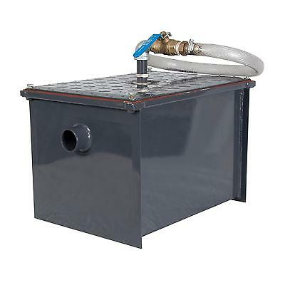 BK Resources BK-SGI-30 30 lb Semi-Automatic Grease Interceptor w/ Drawoff