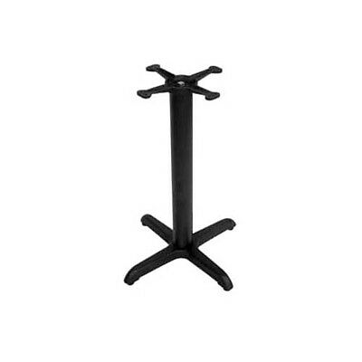 """BK Resources BK-DXTB-2430 24"""" x 30"""" Dining Height 3 Piece Cast Iron Table Base"""