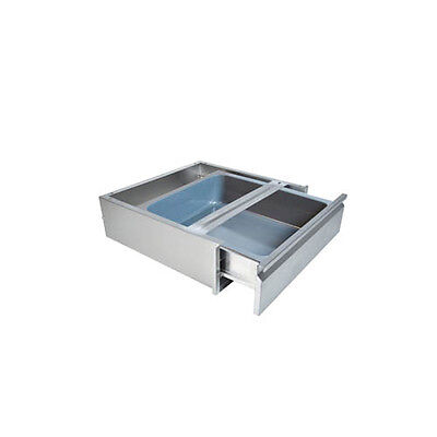 "BK Resources 20""Wx15""D Self Closing Stainless Steel Drawer Assembly"