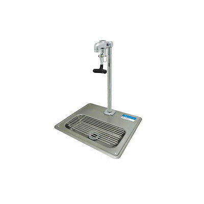 "BK Resources 12-11/16""W Stainless Steel Glass Filler Water Station Sink"