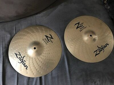 Zildjian z custom hi hats
