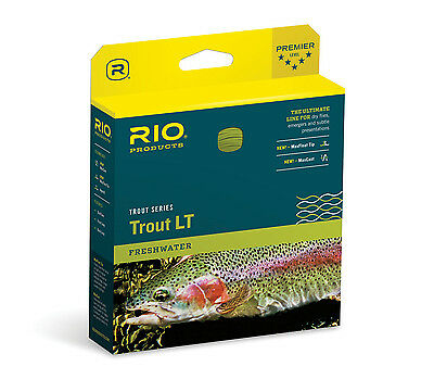 Rio Trout Lt New Dt-3-F #3 Double Taper Floating Fly Line Sage With Maxcast