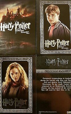 Harry Potter And The Deathly Hallows Part 1 Full Base Set X90 + Chase R1-R9