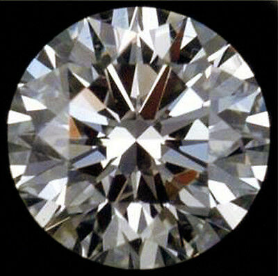 1.5 ct Extremely Brilliant w/ 100 Facets Top Vintage  CZ Moissanite Simulant 7mm