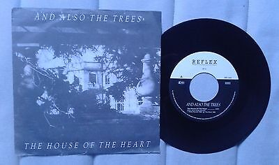 "And Also The Trees House of the heart 7"" German pressing Pot punk goth"