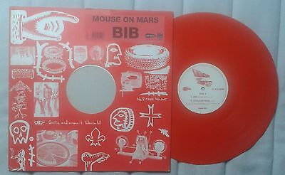 "Mouse on Mars BIB 12"" Ltd Red vinyl"