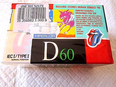 CASSETTE TAPES BLANK SEALED pack of 3 (three) TDK D 60 [1988] made in W. Germany