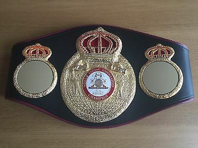 Official WBA Championship boxing belt-GENUINE!! Also selling genuine IBF and IBO