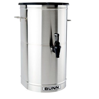 Bunn Iced Tea/coffee Dispenser 4 Gallon Urn W/ Solid Lid - Tdo-4-0000