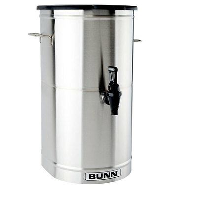 Bunn TDO-4-0000 Iced Tea/Coffee Dispenser 4 Gallon Urn w/ Solid Lid